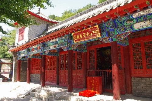 中国大連生活・観光旅行通信**-大連 大黒山 朝陽寺