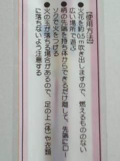遠藤雅伸公式blog「ゲームの神様」-線香花火の説明文