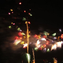 東京湾の花火♪