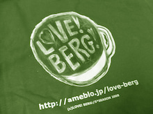 ◆ cinemazoo-『LOVE! BERG!』Tシャツ