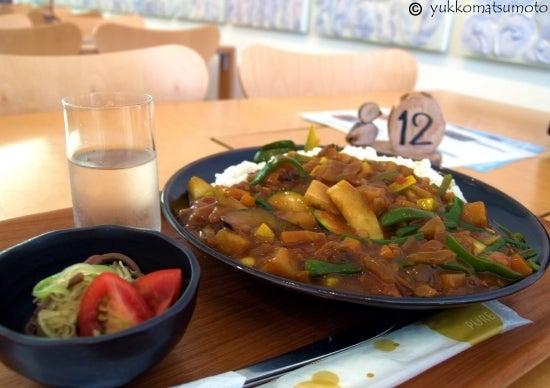 ON THE STREET CORNER   インディーズ取材日記-キョロロ 野菜カレー
