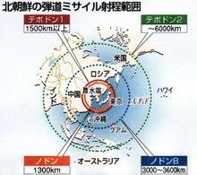 $日本人の進路-北朝鮮ミサイル01