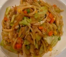 アキステの野菜料理-焼きうどん2