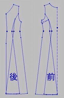 猫と 着物リメイクな日々~和ドレス・着物ドレス製作日記~-着物ドレスの作り方 リフォーム