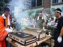 Vivre a` la campagne ★。*・---フランスの地方都市で暮らす-さんま祭り6
