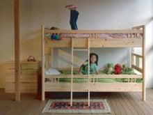 木工所のブログ-「ひのき」シリーズ 2段ベッド 国産