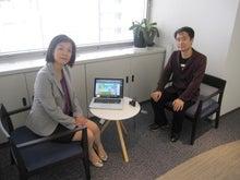 お仕事応援メール女性編集室のブログ-Ustream書籍の取材風景2