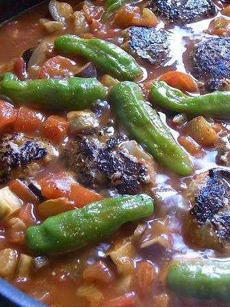 開運レシピ~美味しく運が良くなる秘密~-08.煮込みハンバーグ