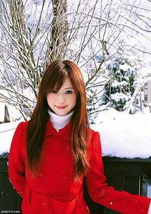 佐々木希(雪景色)