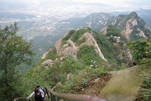 中国大連生活・観光旅行通信**-丹東 鳳城 鳳凰山