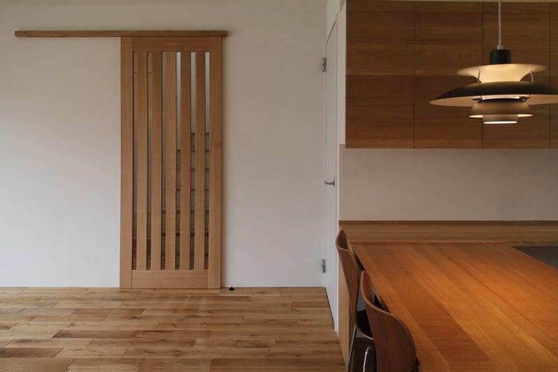 金田博道建築研究所のブログ-リビングドア
