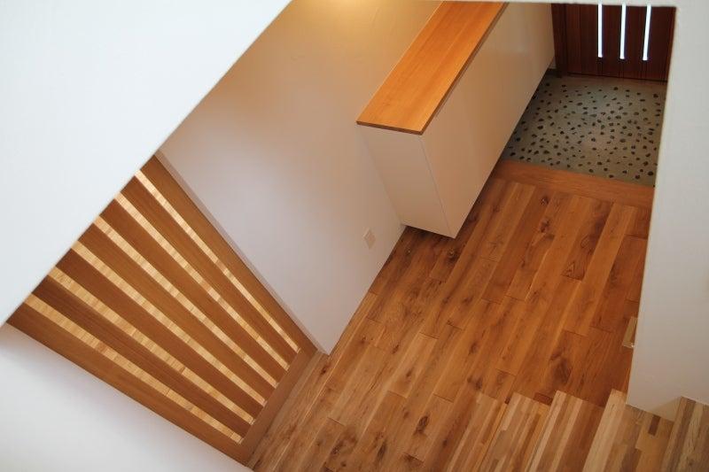 金田博道建築研究所のブログ-玄関ホール