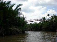 夫婦世界旅行-妻編-橋のある風景