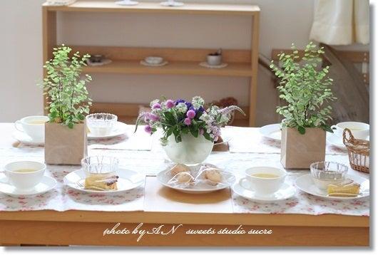 お菓子と写真のお教室、シュクレ