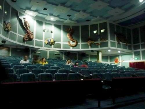 中国大連生活・観光旅行通信**-老虎灘 4D映画館