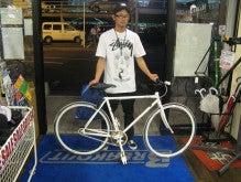 自転車の 福岡市 自転車 カスタム : ドロップハンドルからライザー ...