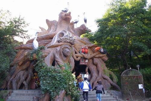 中国大連生活・観光旅行通信**-老虎灘 鳥語園