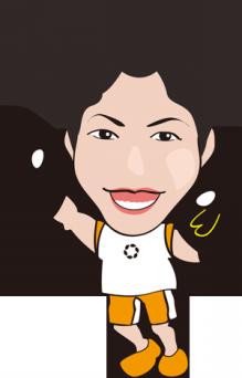 $可愛い似顔絵作成します。名刺やブログで使って下さい。-nigaoe
