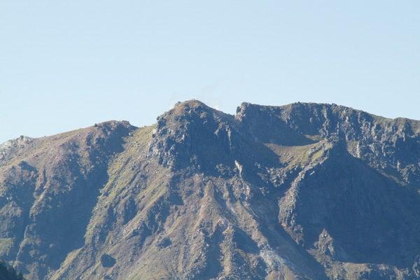 $cheltenhamのブログ-新穂高から見る焼岳