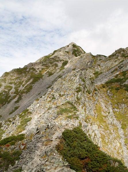 $cheltenhamのブログ-ピラミッドピーク~西穂高岳