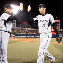 阪神7日勝てば2位確…