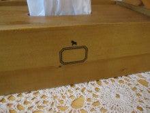 $カントリー家具&雑貨 Slow Life Garden スタッフ日記-ティッシュペーパーボックス2
