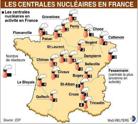 フランスの田舎暮らし-地図