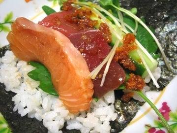マイ飯ウマイ飯★-手巻き寿司1