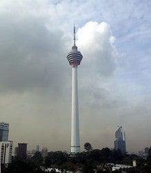 世界のテレビ塔の高さ比べ