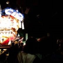 観音寺の祭り・・太鼓…