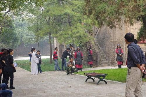 中国大連生活・観光旅行通信**-西安 小雁塔(西安博物院)