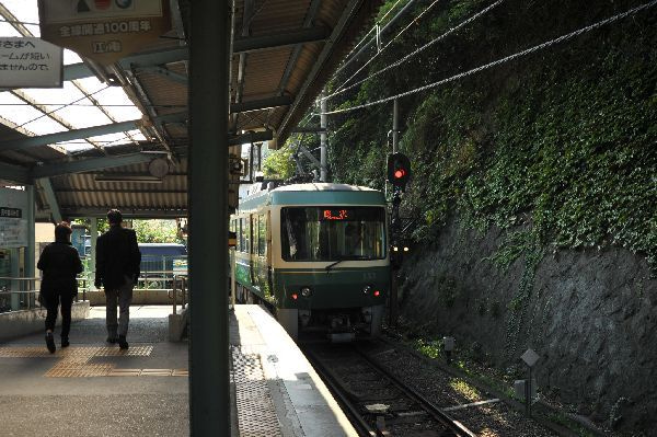 北海道の野生動植物写真-極楽寺駅