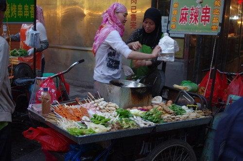 中国大連生活・観光旅行通信**-西安 地元料理