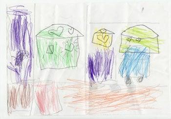 子供の絵を永遠の想い出として残しませんか?イラストレーターのりゃん(良)的日々-大阪府T.Mさま原本3-2