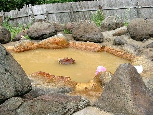 (足跡の足跡)めんたる系-噴出していない温泉