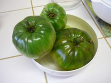 A table!-confiture de tomate verte1