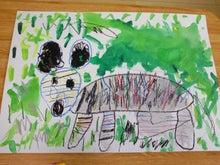 tomoとharuとママと(パパ)の海外生活-zebra
