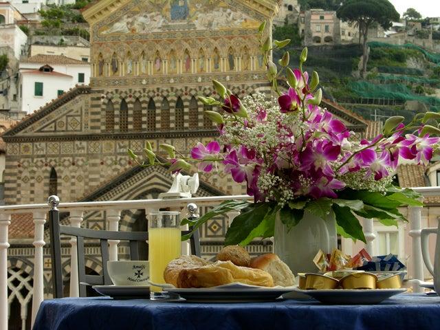 【彼女の恋した南イタリア】 ~ diario-Terrazza Hotel Centrale Amalfi