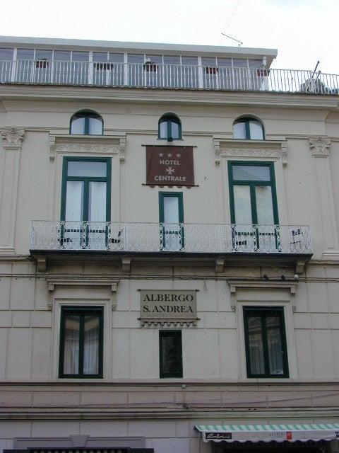 【彼女の恋した南イタリア】 ~ diario-Hotel Centrale Amalfi