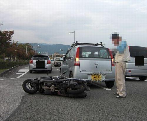 """山岡キャスバルの""""偽オフィシャルブログ""""「サイド4の振興(旧名:侵攻)」-事故 写真"""