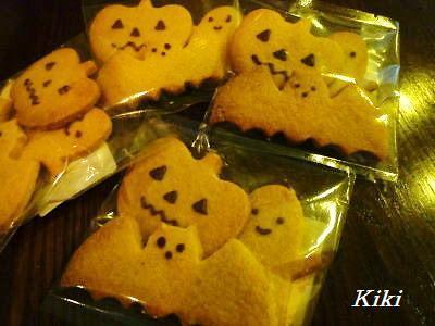 Kikiのキャラ弁1年生-ハロウィンクッキー