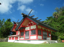 小笠原エコツアー 父島エコツアー         小笠原の旅情報と小笠原の自然を紹介します-大神山神社
