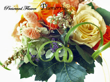 Plumerry(プルメリー)プリザーブドフラワースクール (千葉・浦安校)-ビタミン ワンデイ 手作りブーケ