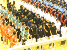 東京ヴェルディバレーボールチーム公式ブログ-1023天皇杯・開会式