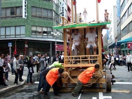 ゑびす祭り×あいちトリエンナーレ2010 ~長者町山車観察日記~-2010.10.23-4
