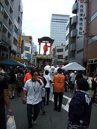 ゑびす祭り×あいちトリエンナーレ2010 ~長者町山車観察日記~-2010.10.24-2