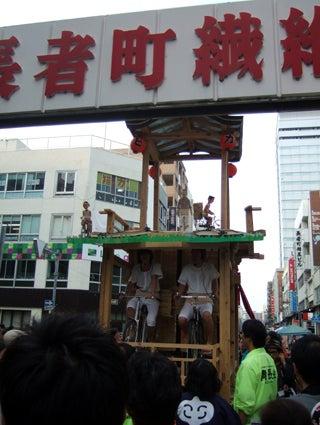 ゑびす祭り×あいちトリエンナーレ2010 ~長者町山車観察日記~-2010.10.23-5