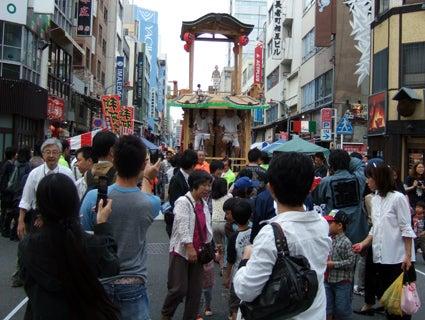 ゑびす祭り×あいちトリエンナーレ2010 ~長者町山車観察日記~-2010.10.23-6