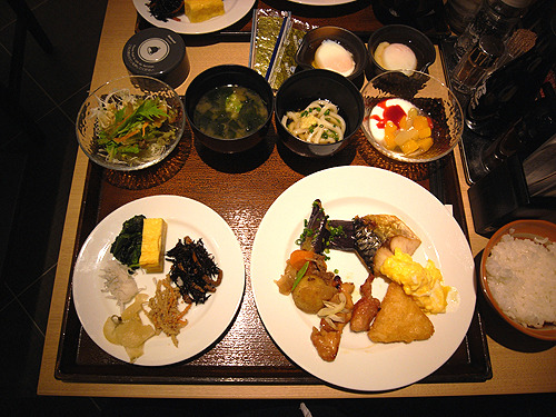 MELI-MELO 日記-朝食 ホテル近鉄ユニバーサル・シティ