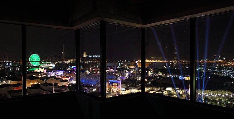 MELI-MELO 日記-USJの夜景 ホテル近鉄ユニバーサル・シティ